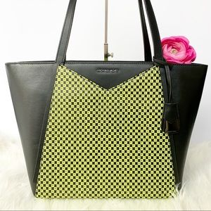 NWT Michael Kors Whitney Leather Tote